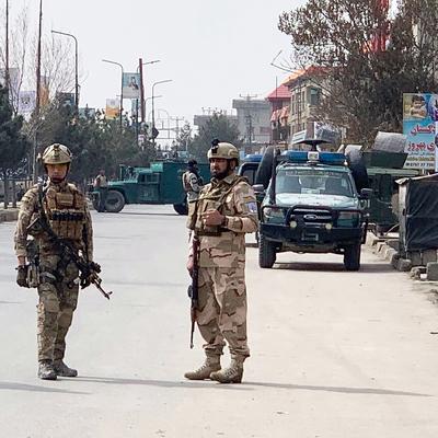 Мощный взрыв прогремел одном из центральных районов Кабула