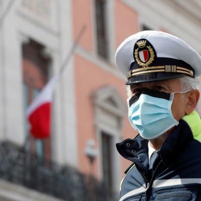 В Италии за сутки зафиксировали 574 новых случая заболевания коронавирусом