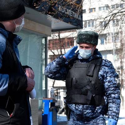 Пропускной режим в Москве будет введён постепенно со следующей недели