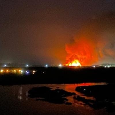 В Ангарске Иркутской области горит исправительная колония