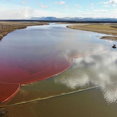 Концентрация вредных веществ на водных объектах в Норильске выше нормы в десятки тысяч раз