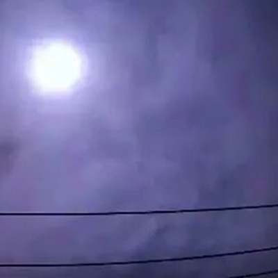 Ночью над Токио пролетел метеор