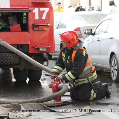 Пожар в жилом доме на Тверской улице, 24 по уровню сложности — 4 из 5