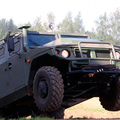 В России создан легкий скоростной броневик «Стрела»