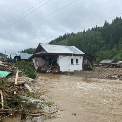 Уровень реки Бикин на юге Дальнего Востока поднялся на 2,5 метра