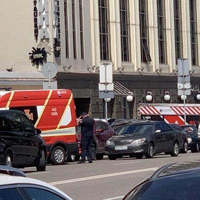 Захвативший заложника в бизнес-центре в Киеве блефовал