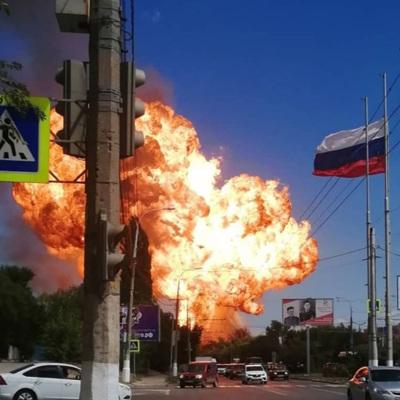До 12увеличилось число пострадавших при взрыве цистерны с газом в Волгограде