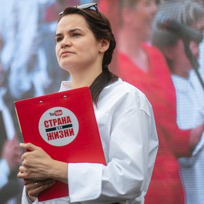 Тихановская записала видеообращение, в котором призвала белорусов не выходить на площади