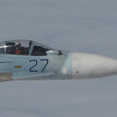 Российский Су-27 был поднят на