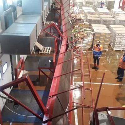 Число пострадавших при обрушении перехода на предприятии в подмосковном Ступине возросло до 39 человек