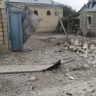 Город Тертер утром вновь подвергся обстрелу с армянской стороны
