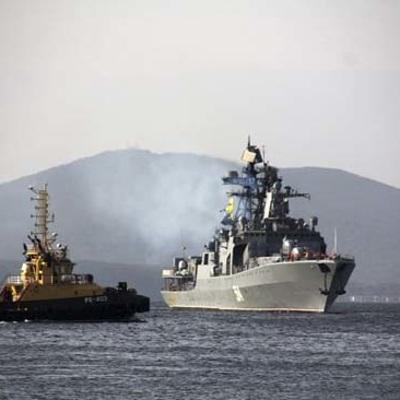 Отряд кораблей Тихоокеанского флота России на следующей неделе отправится в дальний поход