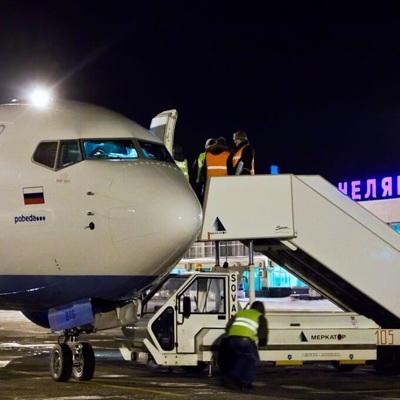 Из-за сильного ветра в Челябинске задержаны 15 авиарейсов