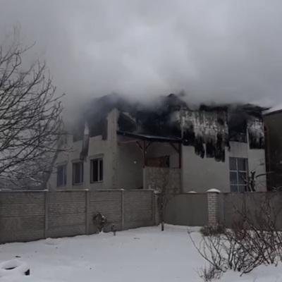 Однодневный траур объявят в Харькове после пожара в доме престарелых