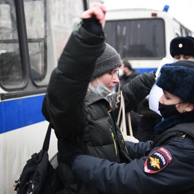 Песков рассказал о реакции правоохранителей на грубое применение силы 23 января
