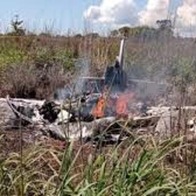 Самолет с футболистами разбился в Бразилии
