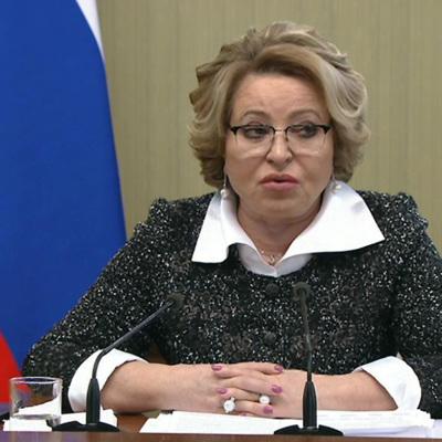 Матвиенко призвала принять меры по повышению эко-ответственности бизнеса