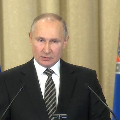 Владимир Путин заявил о готовящихся провокациях против России