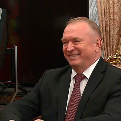 Катырин на встрече с Путиным рассказал о работе Торгово-промышленной палаты