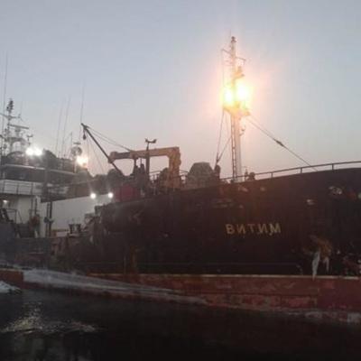 Экипаж загоревшегося в Японском море судна