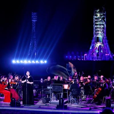 На Байконуре состоялся праздничный концерт
