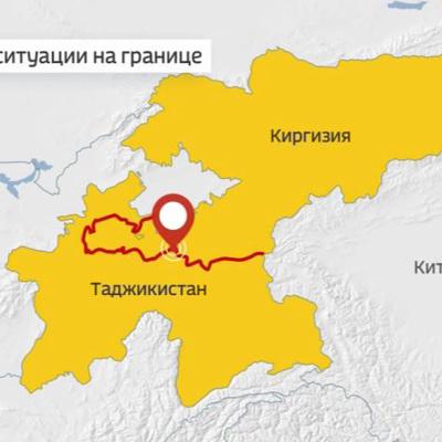Обстановка на киргизско-таджикской границе стабильная