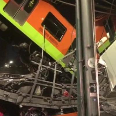 В Мехико объявлен траур по погибшим в результате обрушения метро-моста
