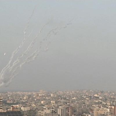 С территории Сектора Газа обстрелян Израиль
