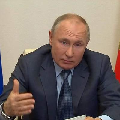 Владимир Путин считает, что Украину стараются превратить в антипод России