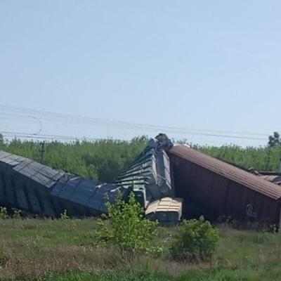 В Самарской области 15 вагонов сошли с рельсов