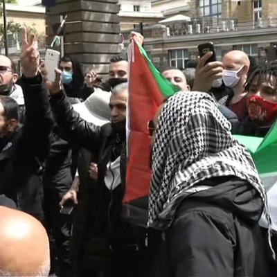 Демонстрации в поддержку Палестины прошли во многих городах Европы