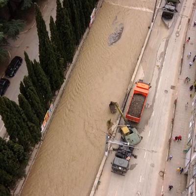 Под Ялтой река вновь подтапливает дома