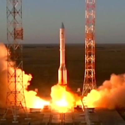 С Байконура запустили ракету-носитель