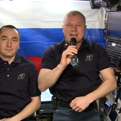 Космонавты Новицкий и Дубров проголосовали на выборах в Госдуму с борта МКС