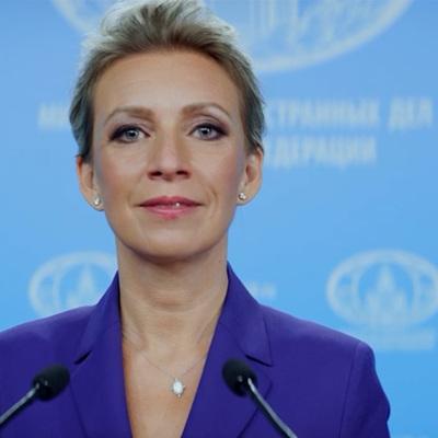Захарова отреагировала на заявление Зеленского о жителях Донбасса