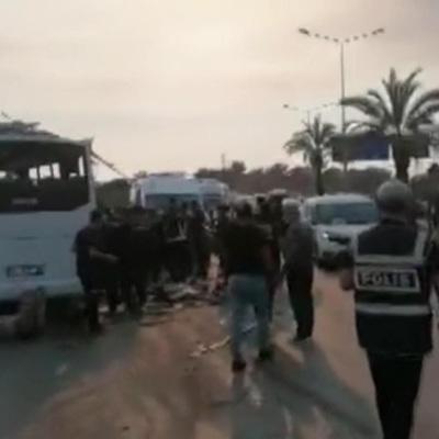 В ДТП с автобусом в Анталье: 3 человек погибло, 5 в тяжелом состоянии