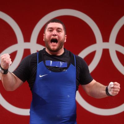 Российский тяжелоатлет Наниев завоевал бронзу Олимпиады