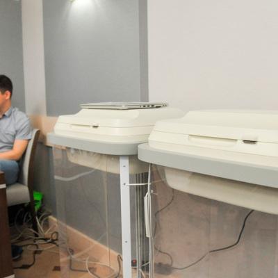 Время ожидания на электронное голосование в Москве составляет от 2 до 5 минут