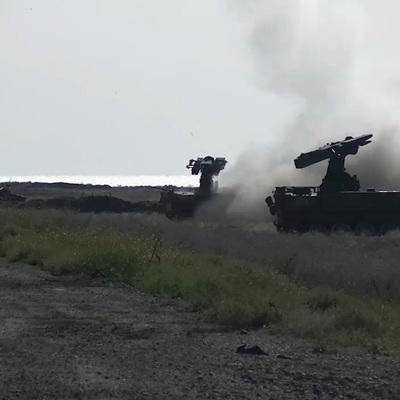 Под Астраханью прошли масштабные учения ПВО