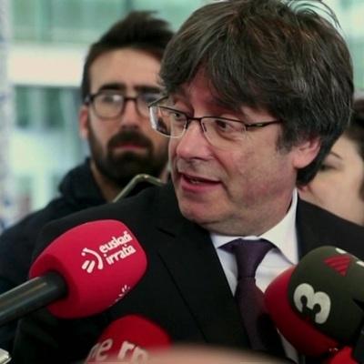 Бывший глава Каталонии Карлес Пучдемон задержан на острове Сардиния