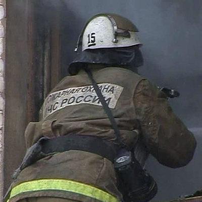 Серьезный пожар произошел в Красногвардейском районе Санкт-Петербурга
