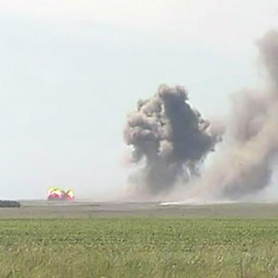 Коммерческая организация не завершила очистку от снарядов бывшего военного полигона в Удмуртии, где произошел пожар