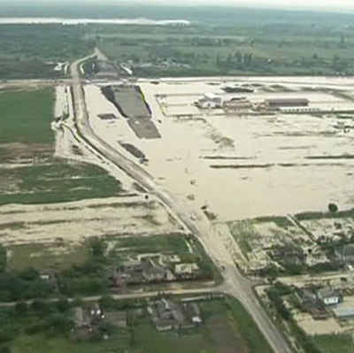 В Приморье три пострадавших от паводка района освободились от воды