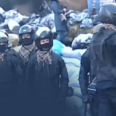 Участники акции протеста у стен Верховной Рады разбили полевую кухню
