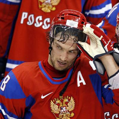 Александру Овечкину наложили несколько швов на губу
