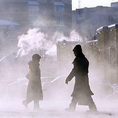 Аномальные морозы обрушились на Якутию