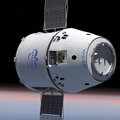 Грузовой космический корабль Dragon прибыл на МКС
