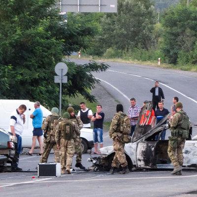 В Тернополе вооруженные радикалы напали на табор цыган