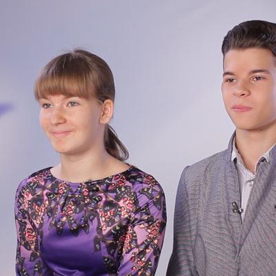 Владислав Кожевников и Анна Бурченко