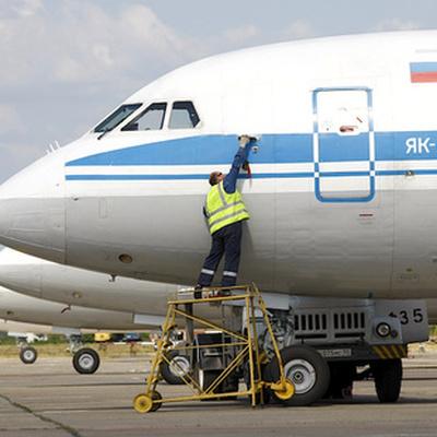 Вылет самолета Як-42